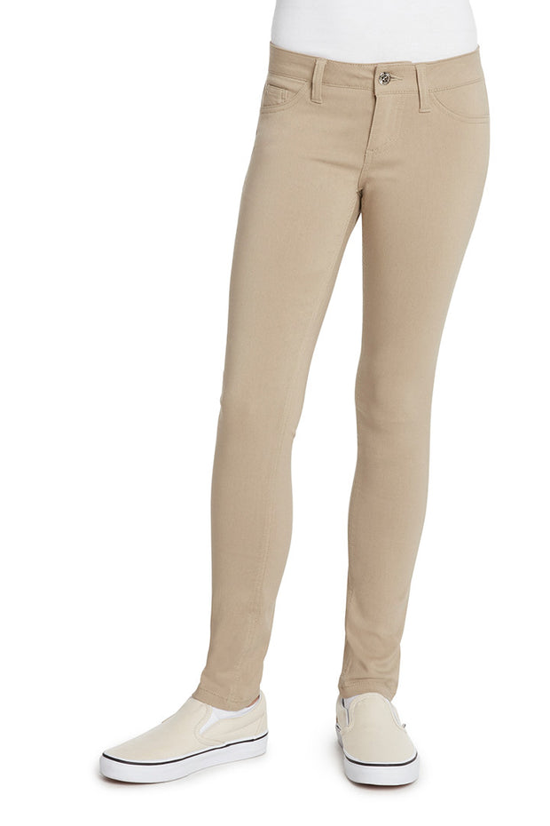 Juniors Mock 5 Pocket Skinny Leg Pant - RAC