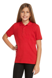 Girls Short Sleeve Polo Shirt