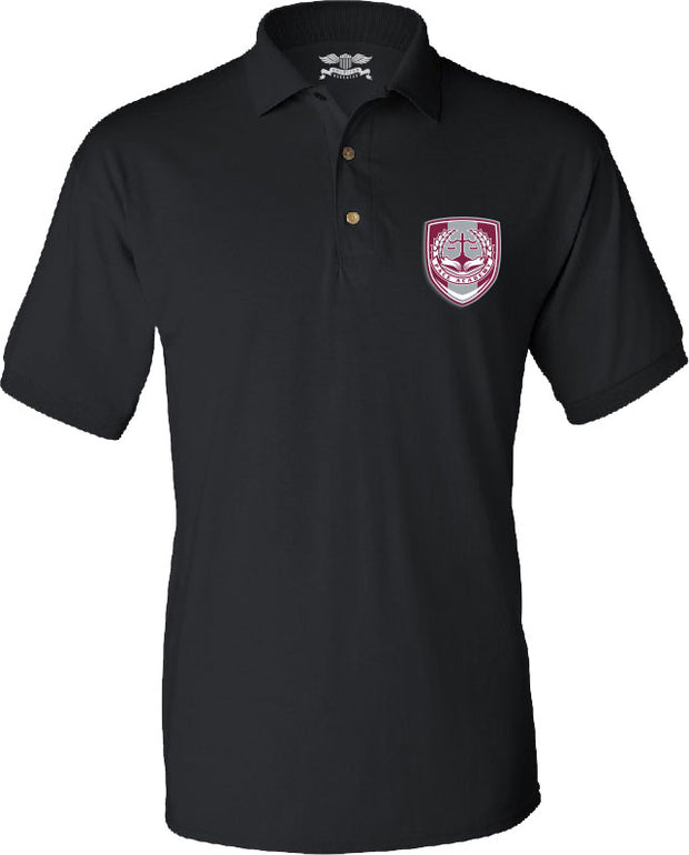 Youth Short Sleeve Polo Shirt w/Embroidered Logo - PACE