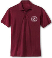 Adult Short Sleeve Polo Shirt w/Embroidery - Holmes