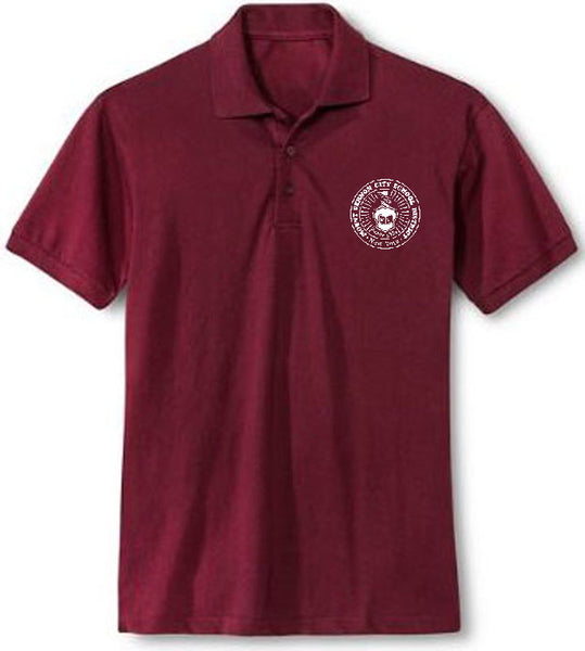 Adult Short Sleeve Polo Shirt w/Embroidery - MVCSD
