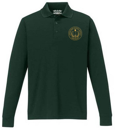Men's Long Sleeve Polo Shirt - WMS