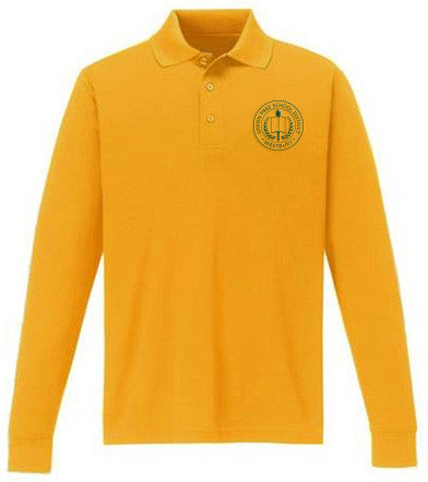 Boy's Long Sleeve Polo Shirt - WES