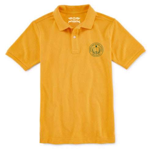 Girl's Short Sleeve Polo Shirt - WES