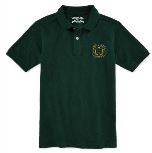 Youth Short Sleeve Polo Shirt - WMS