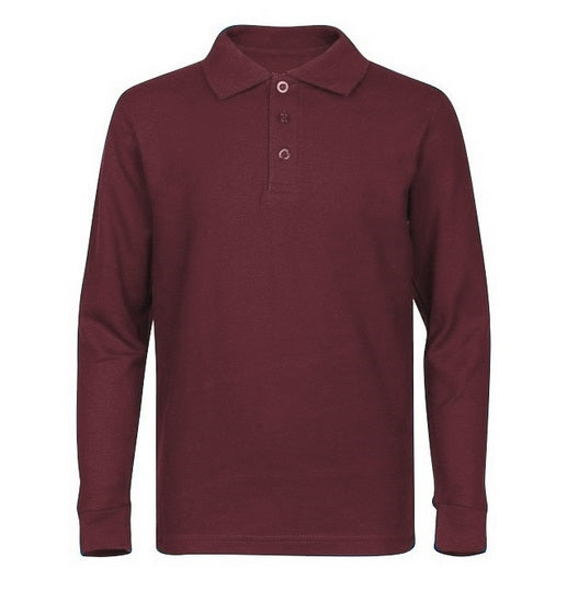 Youth Long Sleeve Polo Shirt - MVCSD
