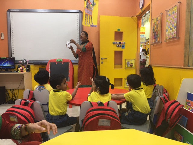 Our Educational Tour of India's Day Nurseries…