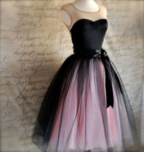 Scoop Neck Short Tulle Homecoming Dress with Bow Tie