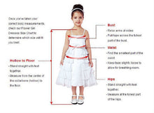 Scoop Neck A-line Lovely Tulle Flower Girl Dress with Bow Tie