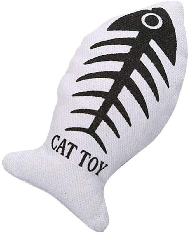 CattyBox Fish Shaped Chew Toys