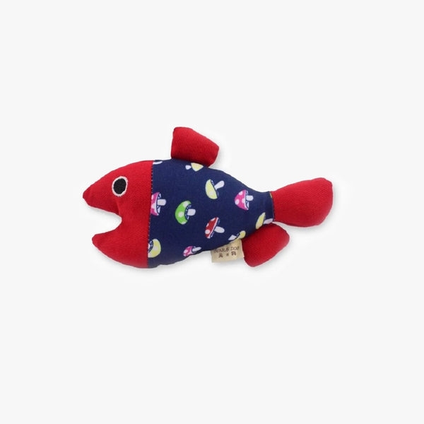 CattyBox Squeaky Fish Cat Toy