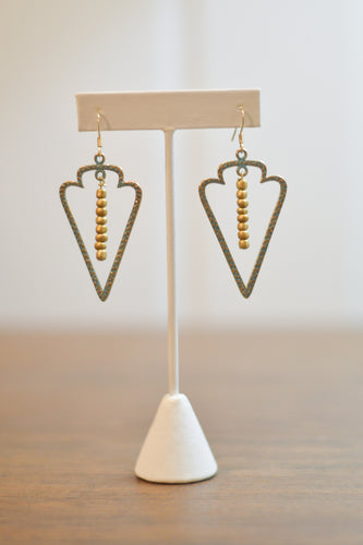 Sagittarius Earrings - Gold