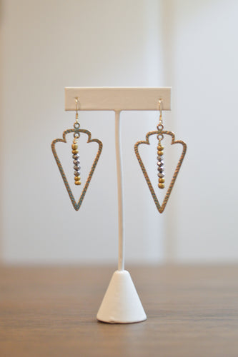 Sagittarius Earrings - Metallics