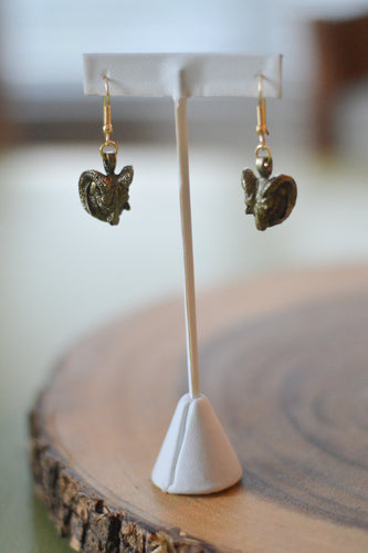 Rams Head Earrings