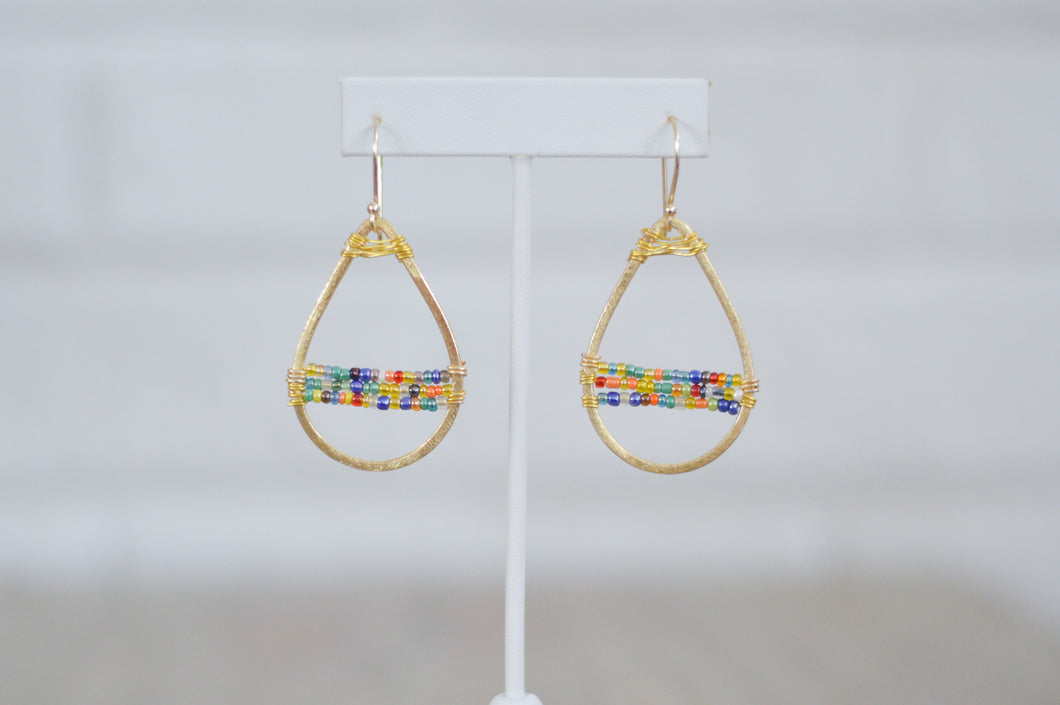 Mini Stardust Earrings - Rainbow