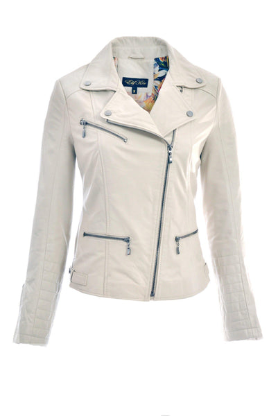 EKSS17018 Classic Soft Biker Leather Jacket