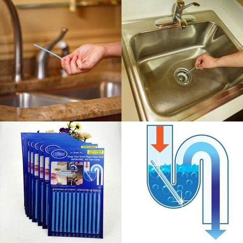 Sani Sticks Pipe Tub Decontamination Sticks for Kitchen Water Tank Cleaning