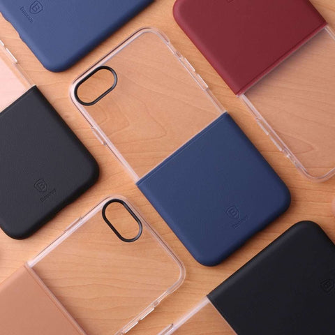 Apple Original iPhone 7, 7 Plus Soft Hard Protective Cover