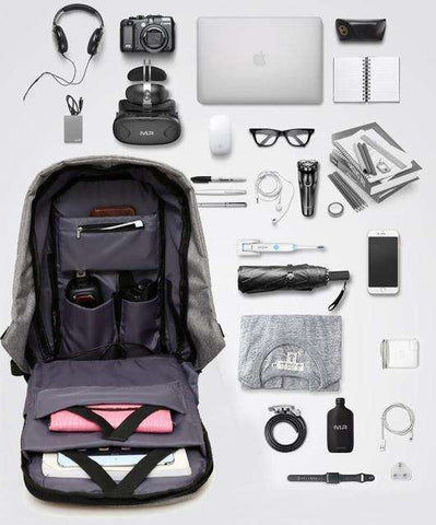 Best Anti-Theft USB Charging Travel Laptop Backpack