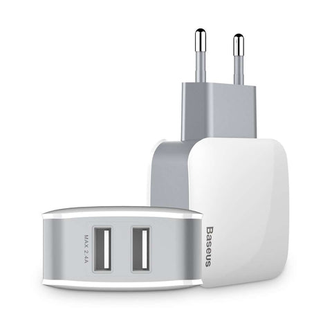 Dual USB Port Charger for Smart Phone