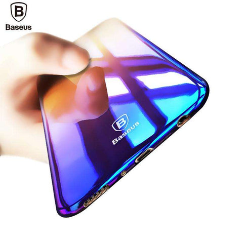 Samsung Galaxy S8, S8 Plus Ultra Thin Gradient Color Protection Case