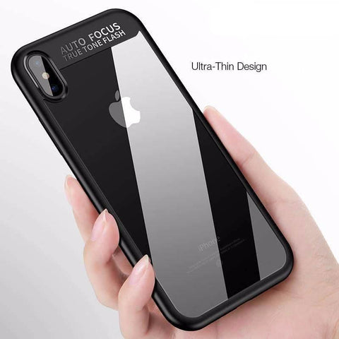 Original Phone Case for Apple iPhone X Clear PC Back