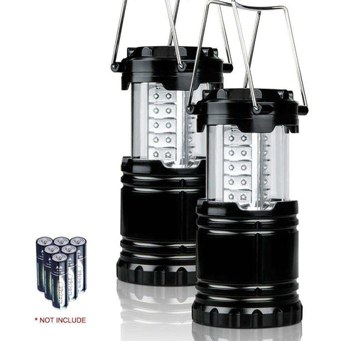 Super Bright 30 Portable Outdoor LED Lantern Water Resistant Camping Lighting Lamp