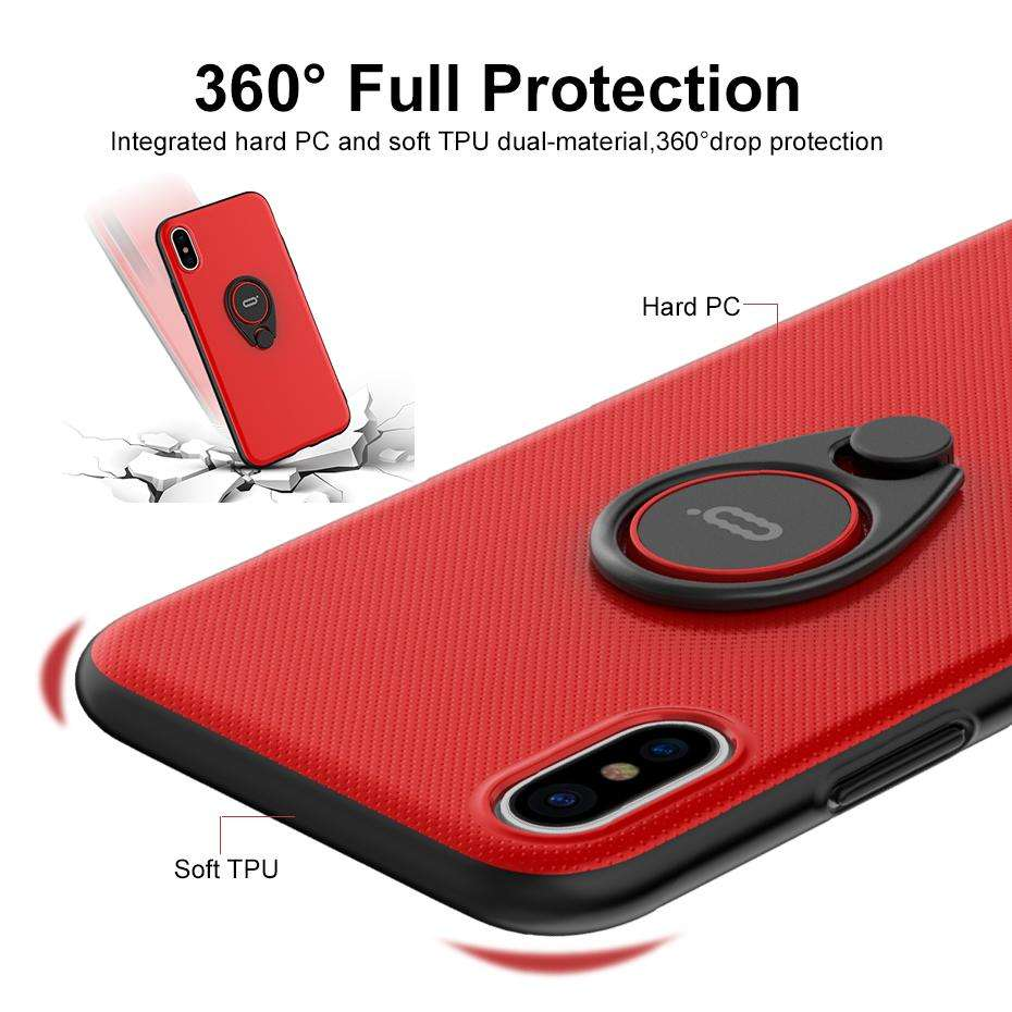 watch 8081c 2419c Best Quality iphone X case cover with ring holder – Millionchoice