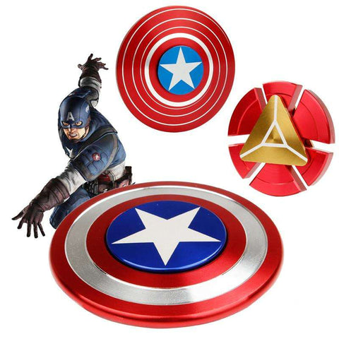 Iron Man, Captain America Round Wheel EDC Fidget Spinner