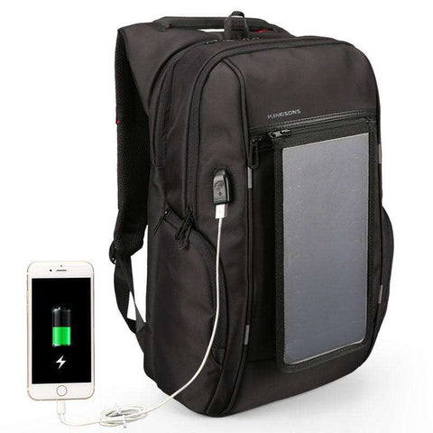 USB Charge Solar Travel Backpack