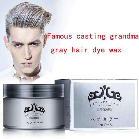 120g One-Time Hair Dye Color Wax Cream to Style Your Hair