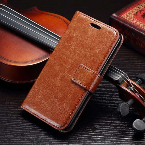 Samsung Galaxy S8, S8 Plus Flip Leather Wallet Case