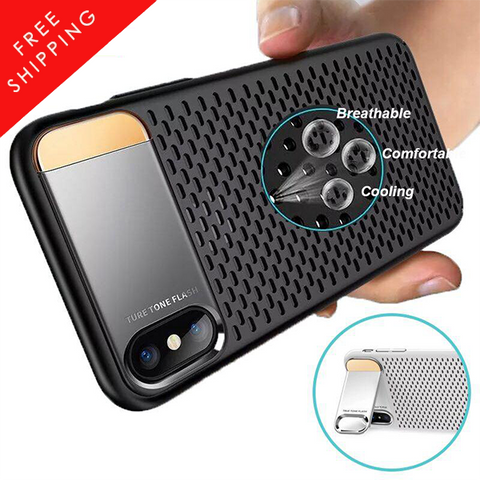 Heat Dissipation Phone Cases for iPhone X