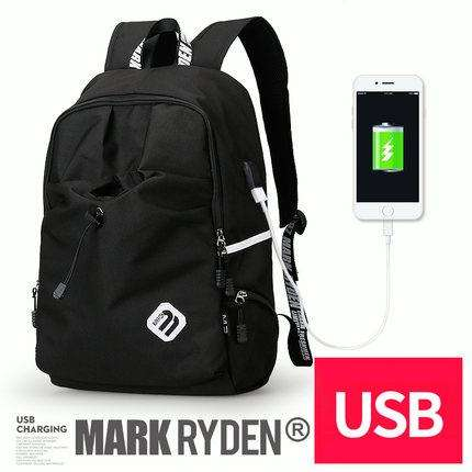 Backpack Student College Waterproof Nylon Backpack