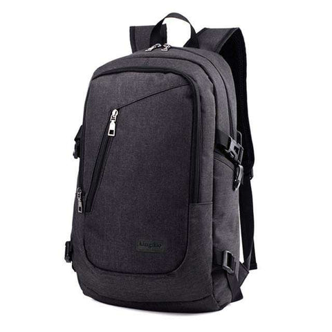 Travel Shoulder Bags with USB Charging Port External