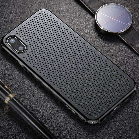 Breathable Protective Case for iPhone X