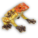 Frog (Dart Frog) Jeweled Trinket Box with SWAROVSKI Crystals