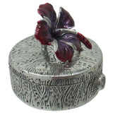 Pill & Trinket Box , Orchid