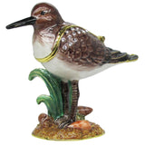 Sandpiper Jeweled Trinket Box with SWAROVSKI Crystals