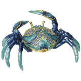 Crab Jeweled Trinket Box with SWAROVSKI Crystals