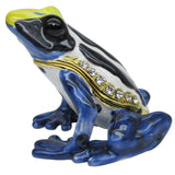 Poison Dart Frog Jeweled Trinket Box with SWAROVSKI Crystals