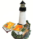 Lighthouse Jeweled Trinket Box with SWAROVSKI Crystals