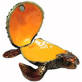 Sea Turtle Jeweled Trinket Box with SWAROVSKI Crystals, #2