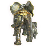 Elephant & Baby Jeweled Trinket Box with SWAROVSKI Crystals