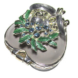 Mini Heart Jeweled Trinket Box with SWAROVSKI Crystals