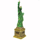 Statue of Liberty Jeweled Trinket Box with SWAROVSKI Crystals