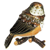 Robin Baby Jeweled Trinket Box with SWAROVSKI Crystals