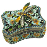 Dragonfly Jeweled Trinket Box with SWAROVSKI Crystals, #2
