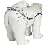 Polar Bear & Cub Jeweled Trinket Box with SWAROVSKI Crystals