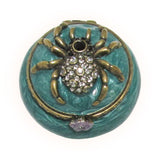 Mini Spider Jeweled Trinket Box with SWAROVSKI Crystals